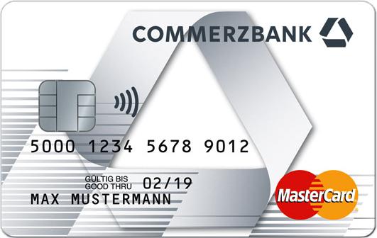 Logo Commerzbank Prepaid Kreditkarte