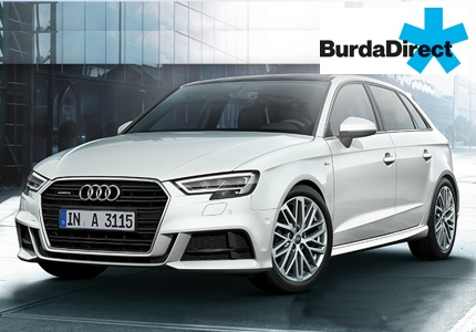 Burda Audi A3 Gewinnspiel 11.2018