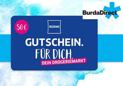 BurdaDirect Budni Gutschein Gewinnspiel