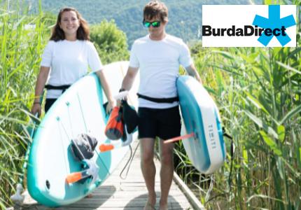 Burda SUP-Board Gewinnspiel