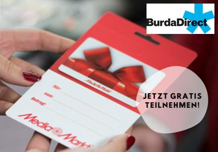 BurdaDirect Technik-Gutschein Gewinnspiel