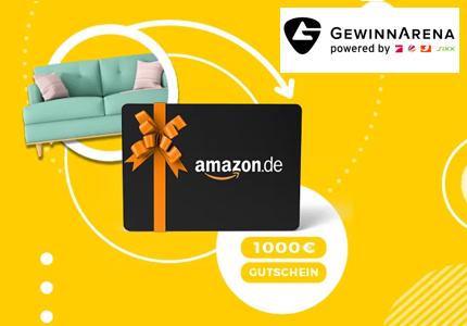 GewinnArena Amazon Gutschein