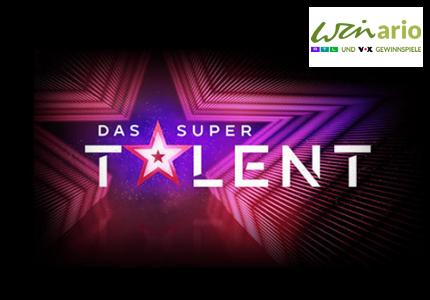 Winario - Supertalent Gewinnspiel