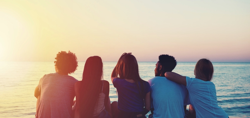 Soviel Zeit muss sein! Auch im Forschungssemester ist mal ein Abend mit Freunden am australischen Strand drin