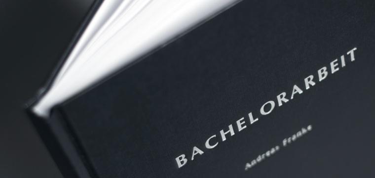 Bachelorarbeit binden und drucken in 24h