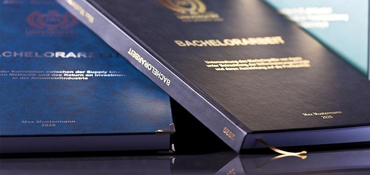 Bachelorarbeit drucken und binden lassen online