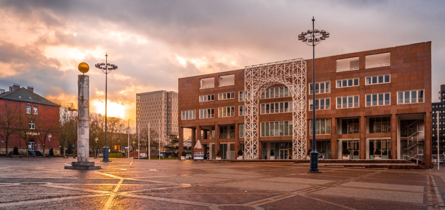 Dortmund Rathaus Innenstadt