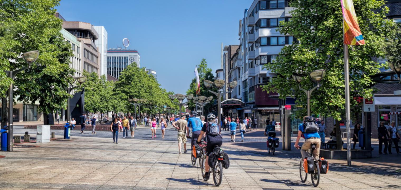 Duisburg, Stadtzentrum