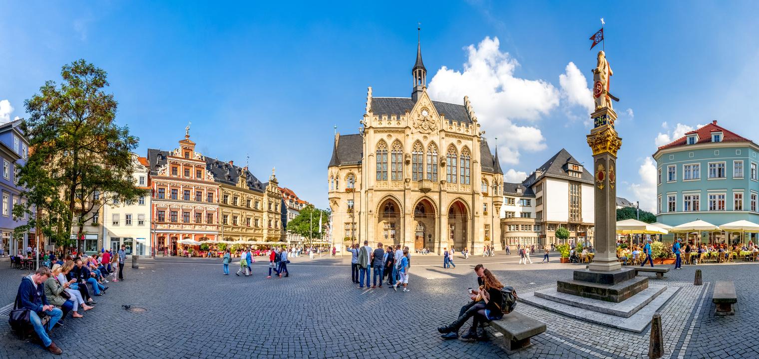 Erfurter Rathaus am Fischmarkt