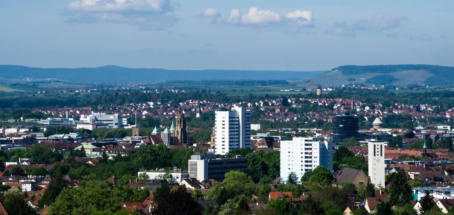 Stadtlandschaft Heilbronn
