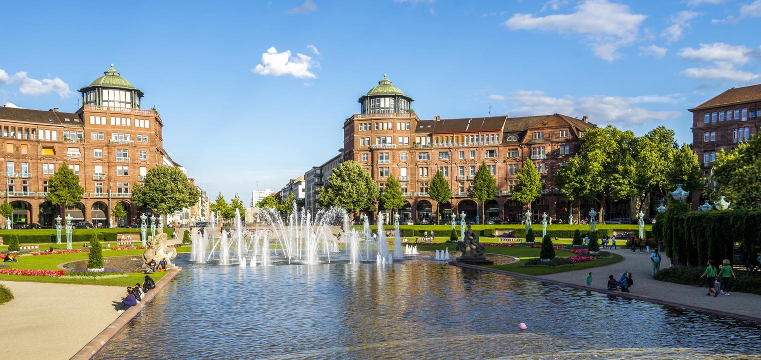 Mannheim, Wasserturm