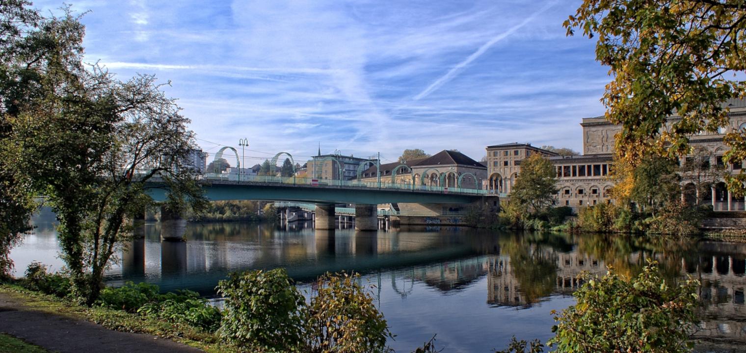 Schloßbrücke Mülheim an der Ruhr
