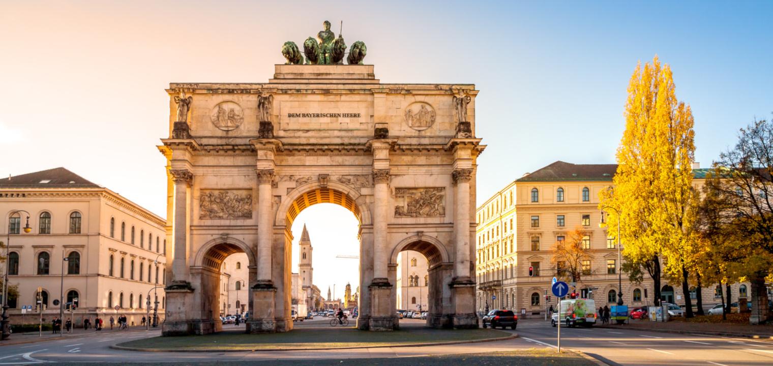 München, Siegestor, Triumphbogen