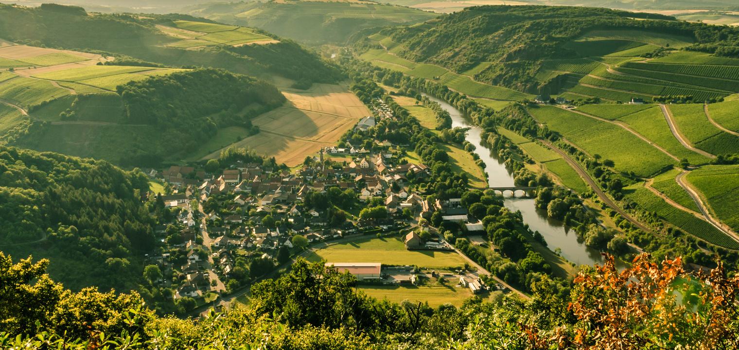 Oberhausen an der Nahe, Blick vom Lemberg