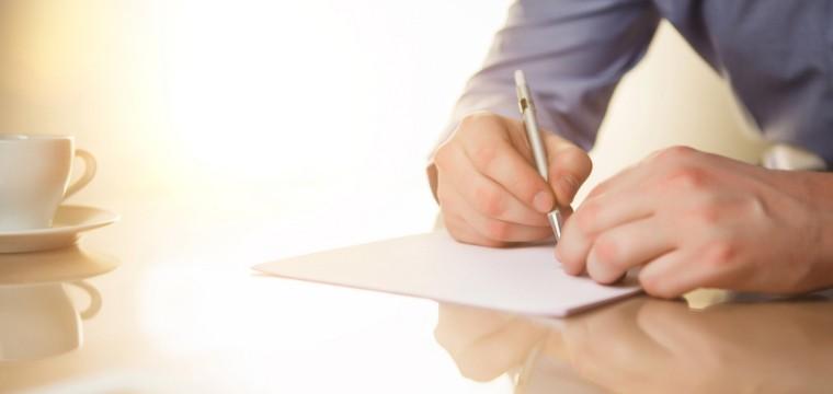 Den handschriftlichen Lebenslauf verfassen