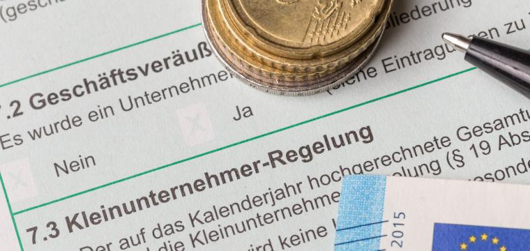 Kleinunternehmer Steuererklärung