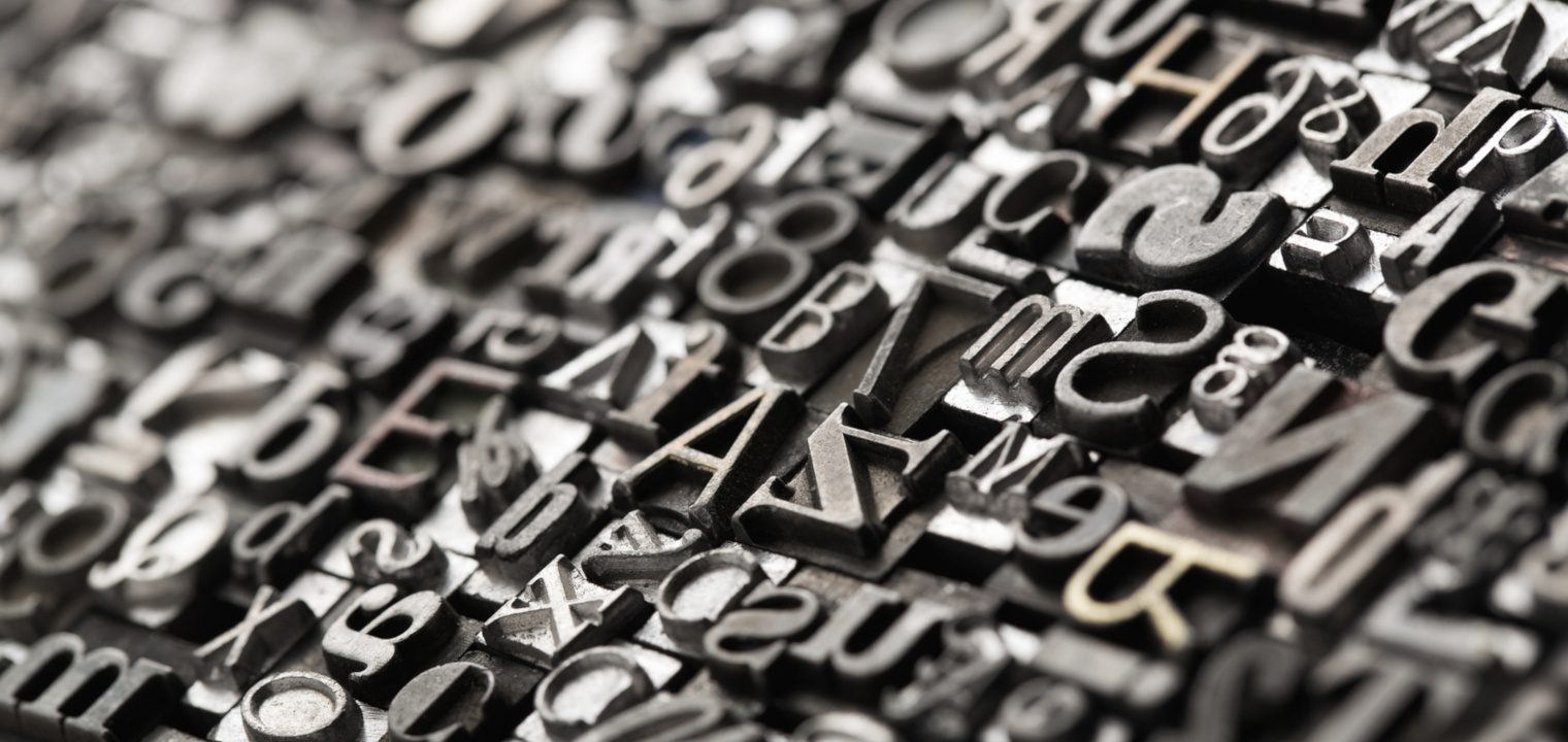 Schriftgröße & Schriftart