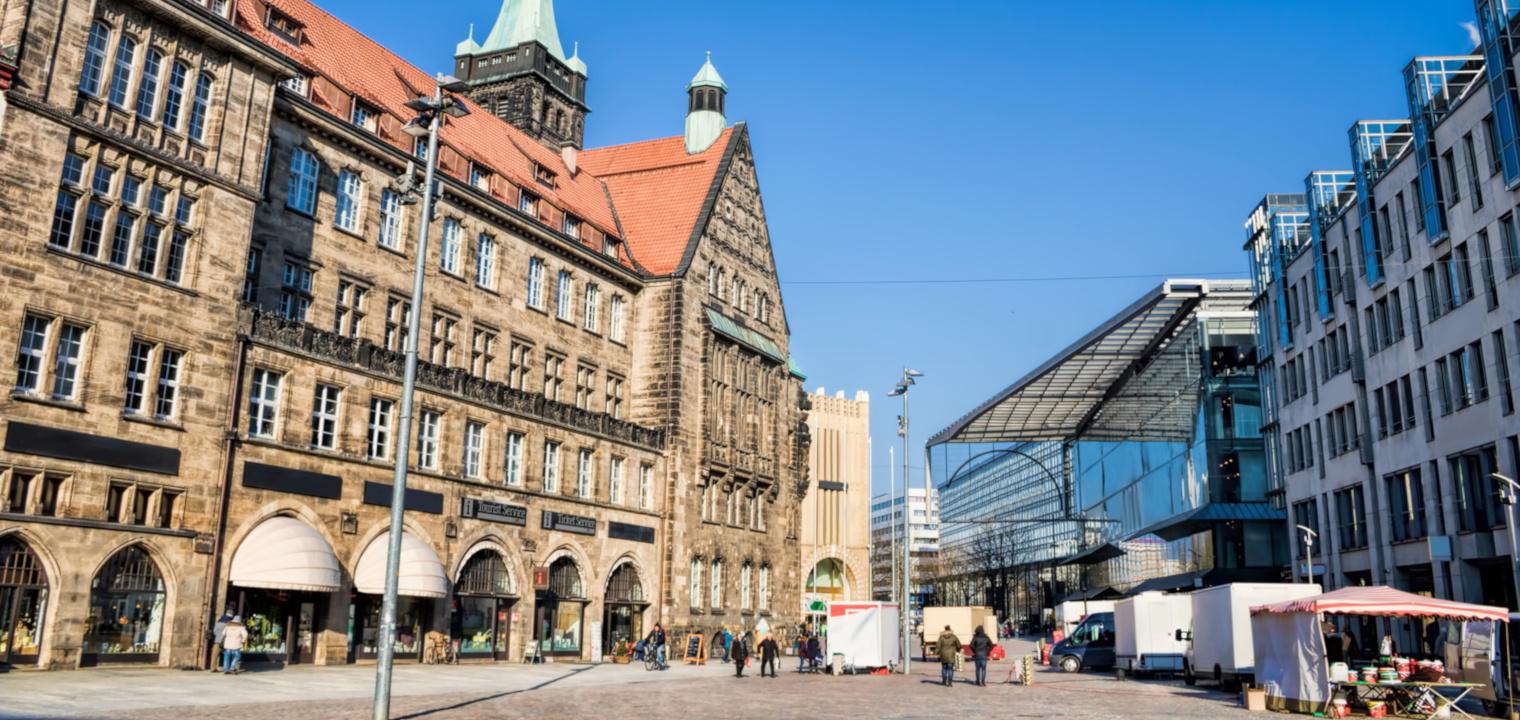 Chemnitz, Marktplatz