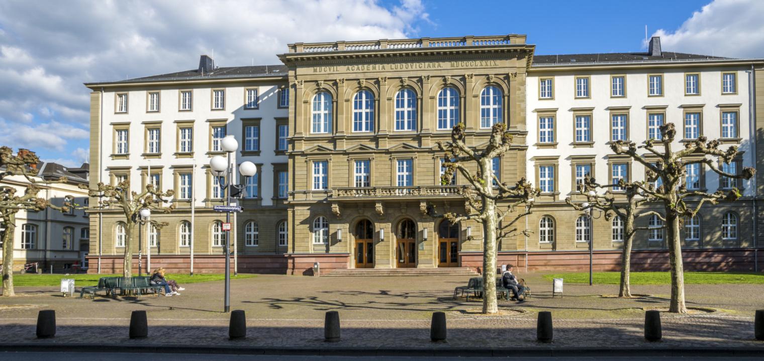 Gießen, Justus-Liebig-Universität, Hauptgebäude