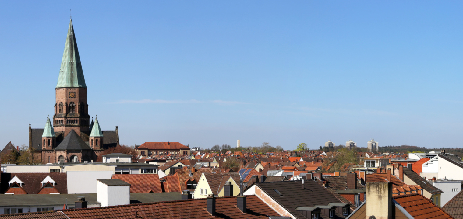 Stadtansicht von Kaiserslautern