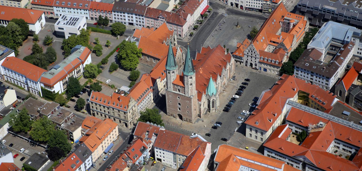 Luftaufnahme Stadt Braunschweig