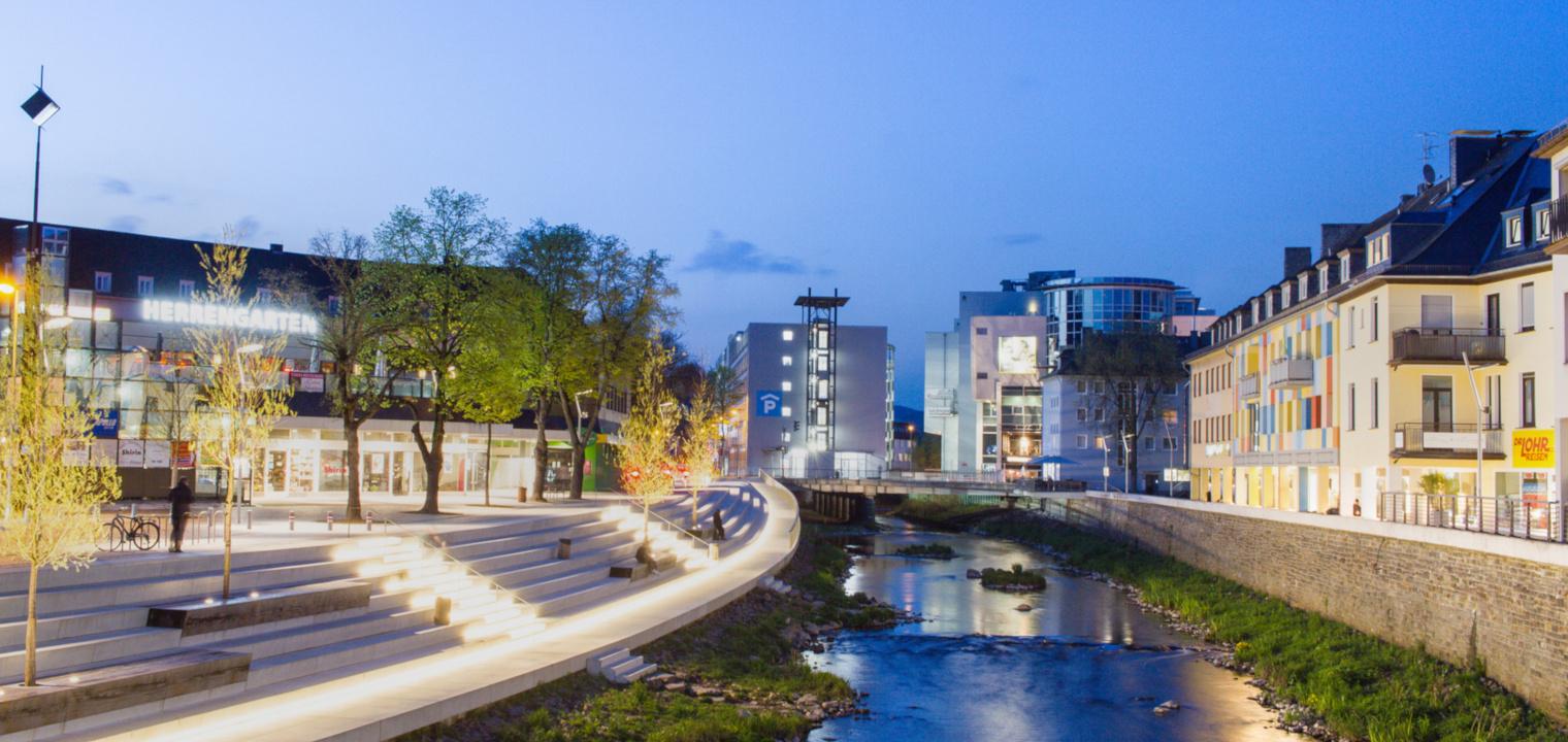 Siegufer Stadt Siegen