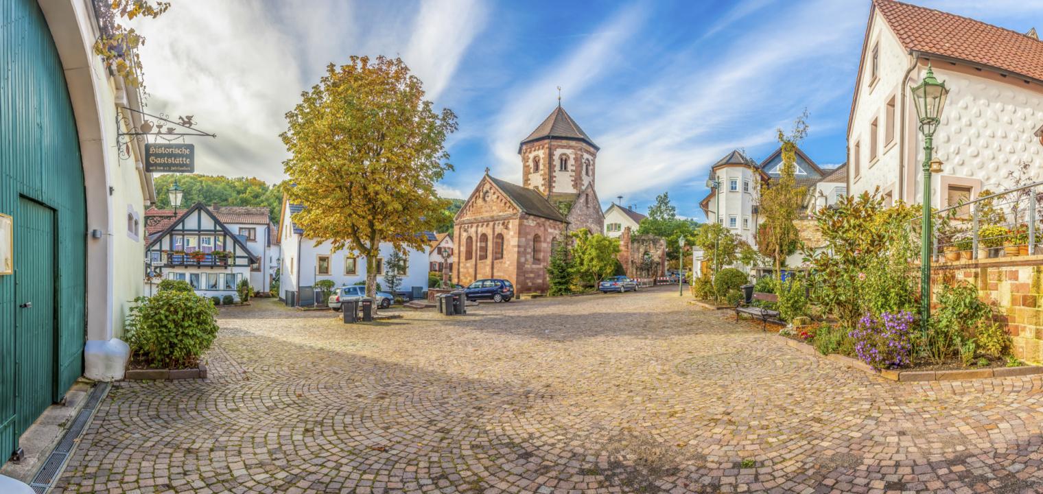 Zentrum von Bad Dürkheim