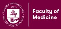 Logo Universität Vilnius Medizinische Fakultät