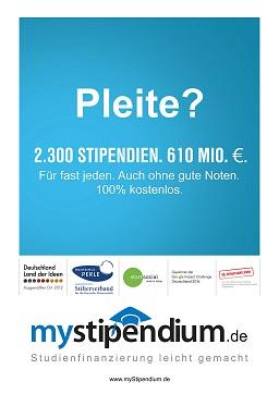 Plakat myStipendium