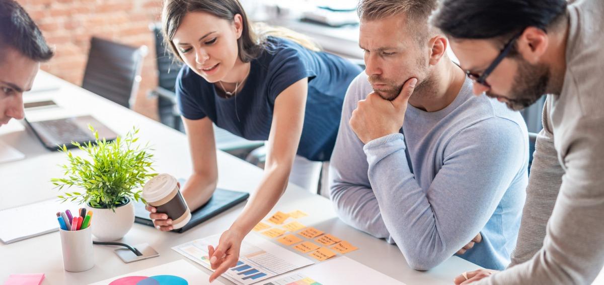Gestalter für visuelles Marketing