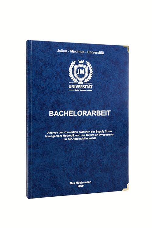 Bachelorarbeit drucken & binden im Premium Hardcover