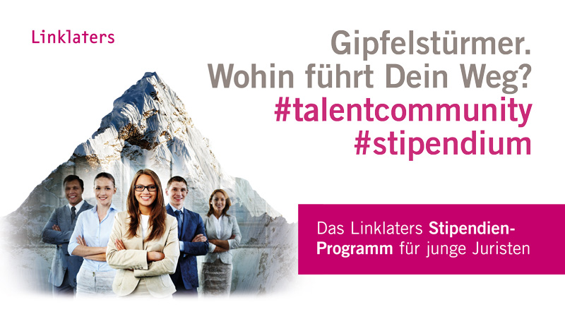 Linklaters-Stipendium für Jurastudenten